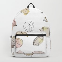 Watercolor Crystals | Healing Crystals Backpack
