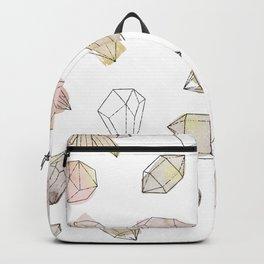 Watercolor Crystals   Healing Crystals Backpack
