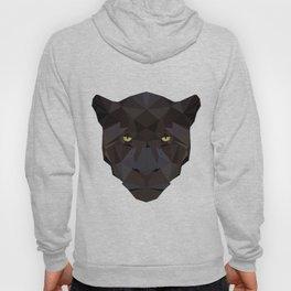 Black Jaguar Panther Wild animals Geometric Hoody