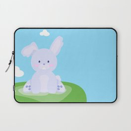 Bunny in country Laptop Sleeve