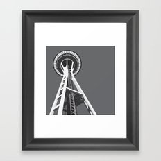 Space Needle Framed Art Print