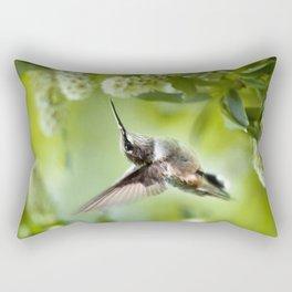 Hummingbird Love Rectangular Pillow