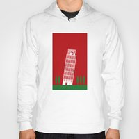 italy Hoodies featuring ITALY by Marcus Wild