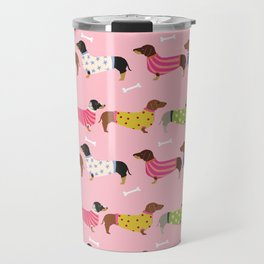 Dachshund doxie sweaters cute dog gifts dog breed dachsie owners must haves Travel Mug