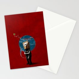 Social insecurities Stationery Cards