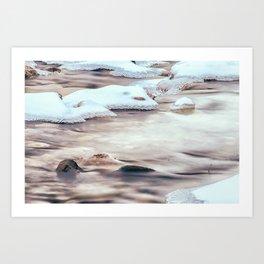 Flow Again Art Print