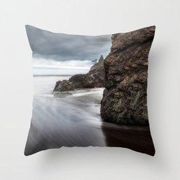 Storms Gather Throw Pillow