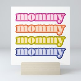 mommyallday Mini Art Print