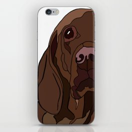 Ruby the Vizsla iPhone Skin