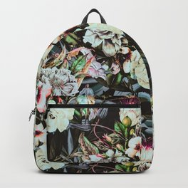 Dark flowery colorful bouquet 01 Backpack