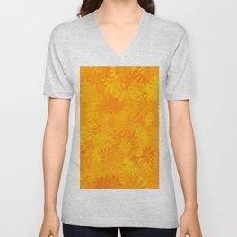 Golden Flower Dayz Unisex V-Neck