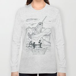 Narwhal and Friends Long Sleeve T-shirt