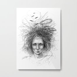 Nothing makes sense Metal Print