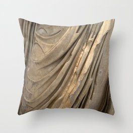 The Philosopher Dress Throw Pillow