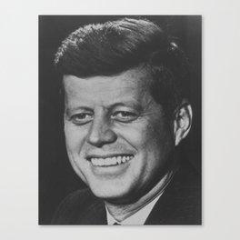 President John F. Kennedy Canvas Print