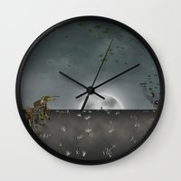 i want to believe Wall Clocks featuring I Want To Believe by Conceptualized