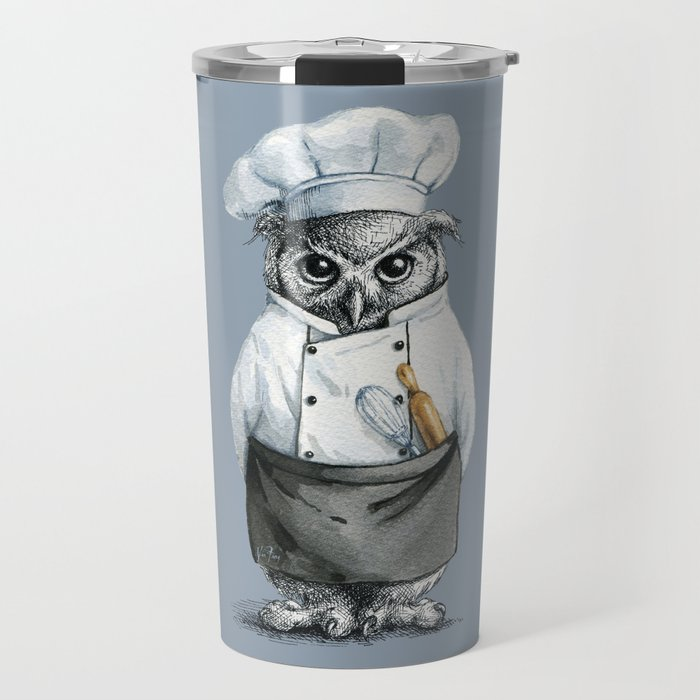 Baker Owl Travel Mug