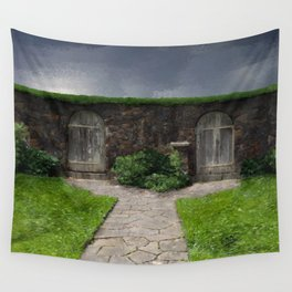 Choices (Secret Garden) Wall Tapestry