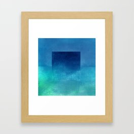 Square Composition IV Framed Art Print