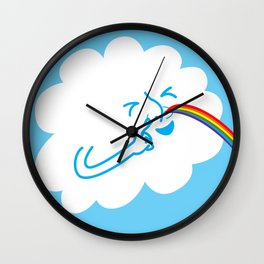 A cloud full of mischief Wall Clock