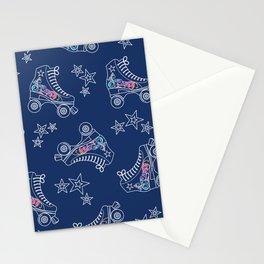 Roller Skates Stationery Cards