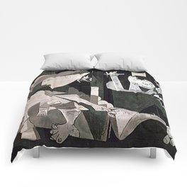 GUERNICA #2 - PABLO PICASSO Comforters