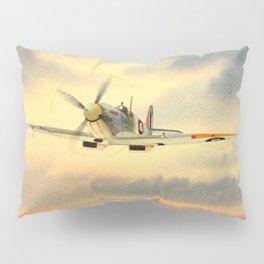 Supermarine Spitfire MK IX Aircraft Pillow Sham