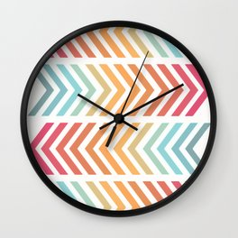 Lemon Meringue VII Wall Clock