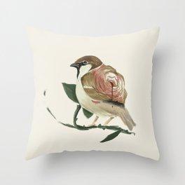 Sparrow & Rose Throw Pillow
