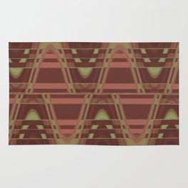 Game of Abstract Waves Rug