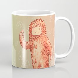 Sasquatch - Cute Cryptid Coffee Mug