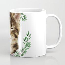 Cat Wink Coffee Mug