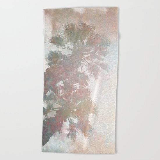 Tropical Day Dream Beach Towel