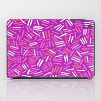 confetti iPad Cases featuring confetti  by Ariadne