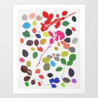 wildrose 1 Art Print