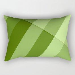 Greenery modern geometric lines Rectangular Pillow