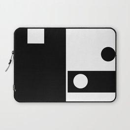Minimal Black and White Laptop Sleeve