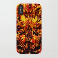 inner demons iPhone & iPod Cases featuring Demons by Jay Hixson