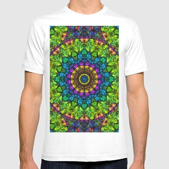 kaleidoscope Crystal Abstract G50 T-shirt