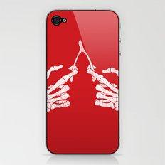 Wishbones iPhone & iPod Skin