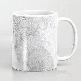 Flirting Fantail Coffee Mug