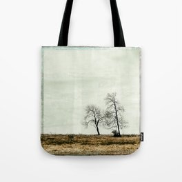 Trees Without Leaves Tote Bag