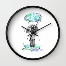 It's the Rain Wall Clock