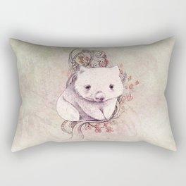 Wombat! Rectangular Pillow