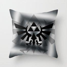 The Legend Of Zelda Logo Throw Pillow