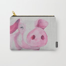 Fuchsia Piggy Carry-All Pouch
