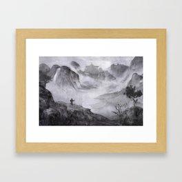 Rise of Renchak Palace Framed Art Print