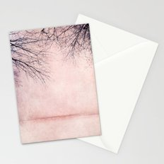 rosa winter Stationery Cards