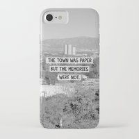 john green iPhone & iPod Cases featuring Paper Towns John Green Quote by denise