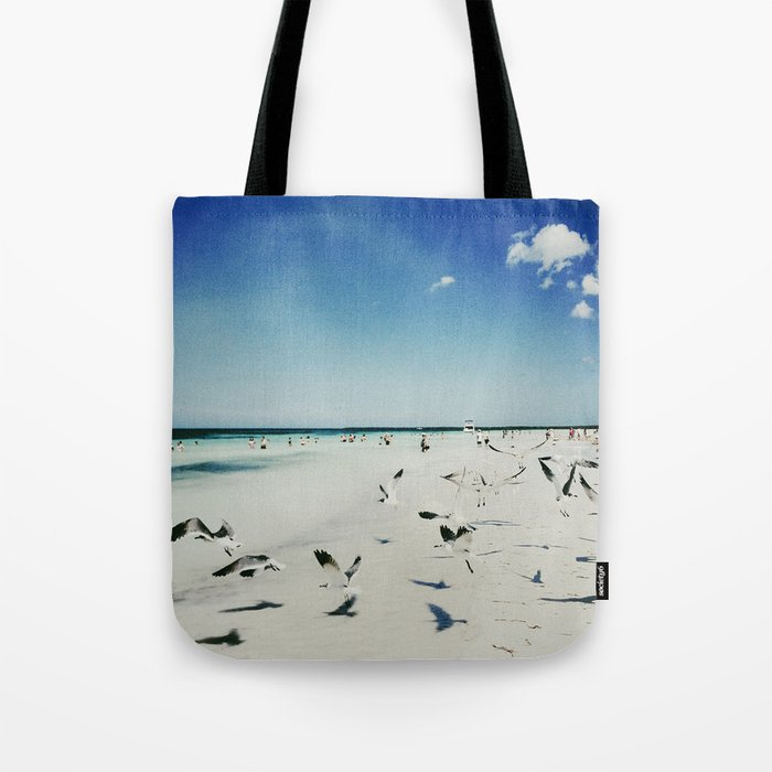 Beach Cuba I Tote Bag By Thiagoalbuquerque